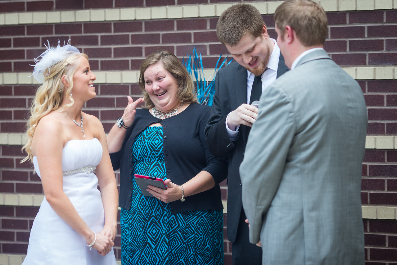 Whitney & Jon's wedding day at the Lyric Theater in Lexington 8.23.14.