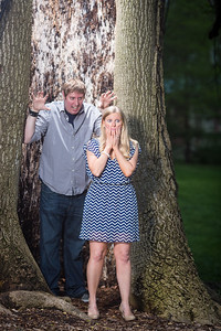 Whitney & Jon, Lexington engagement photography at Morris Book Shop and Ashland 4.30.14.