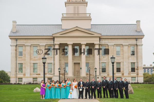 Bridal Party IA City Capital Formals