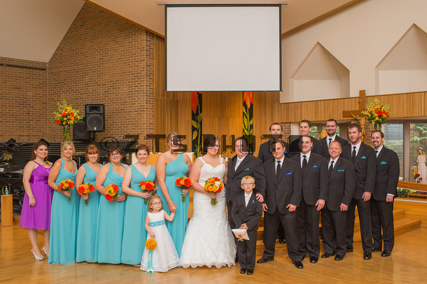 Bridal Party Indoor Formals