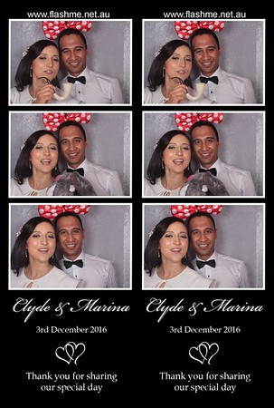 Clyde & Marina's Wedding - 3 December 2016