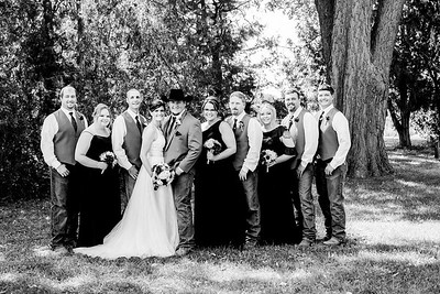 01599-©ADHPhotography2019--ColeLaurenJacobson--Wedding--September7bw