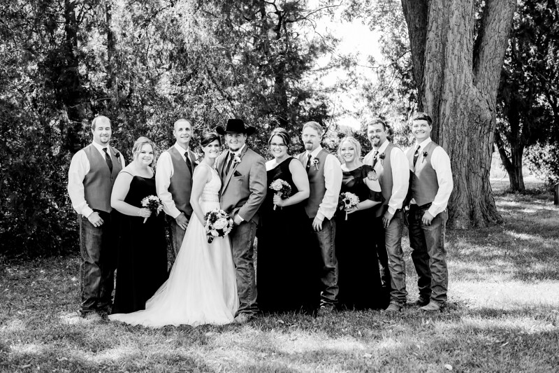 01598-©ADHPhotography2019--ColeLaurenJacobson--Wedding--September7bw