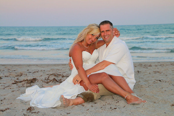 Colleen and Bruce's beach side wedding!