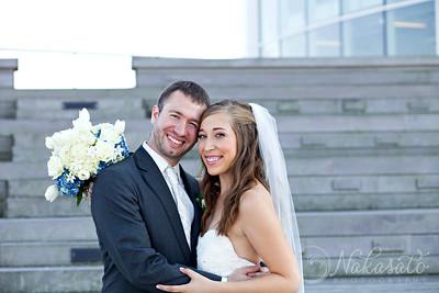 Colleen & Travis {wedding day}