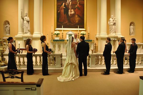 Colleen and Joey Wedding  Phila 10-22-11