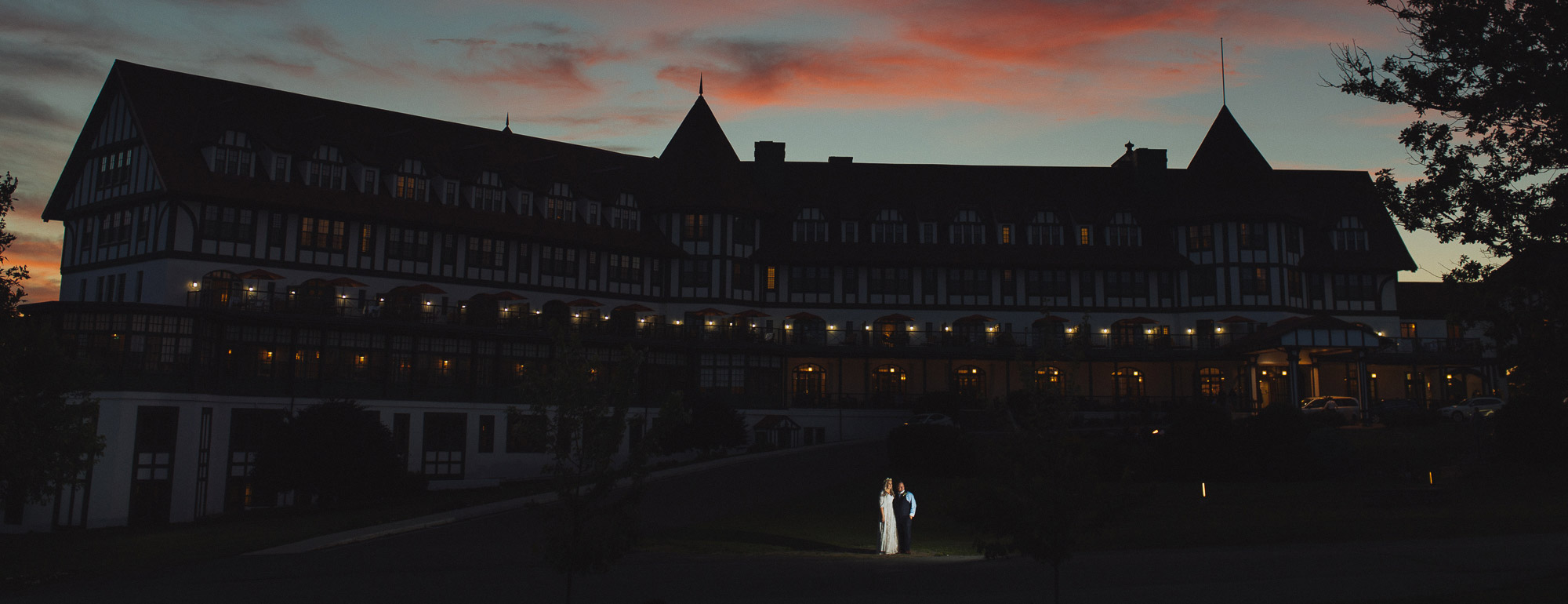 Algonquin Wedding at night