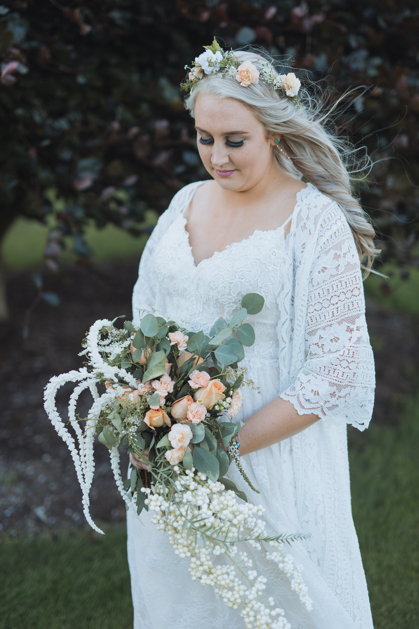 Kelsey - bride portrait