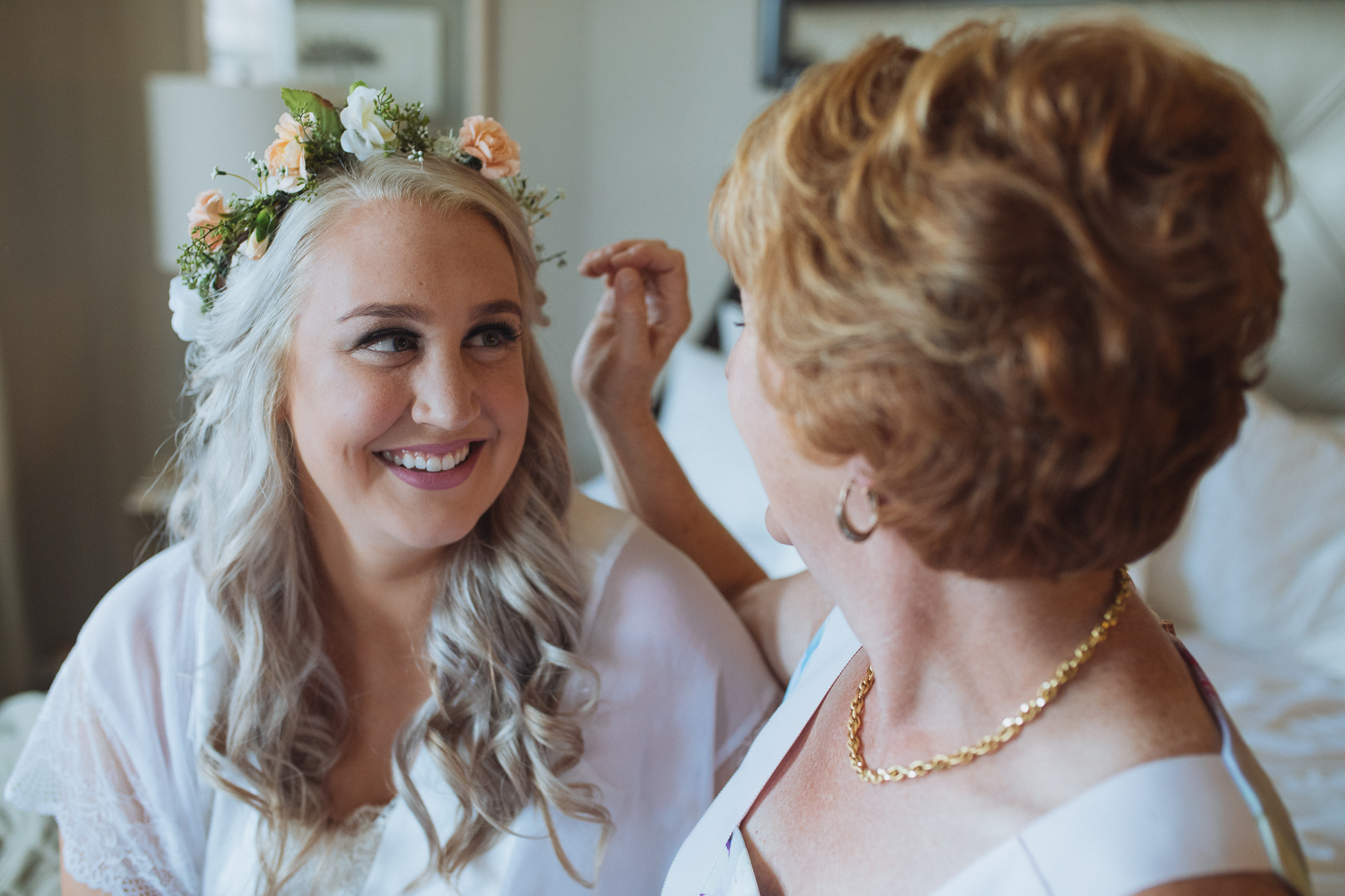 Kelsey and Mom - Algonquin Wedding