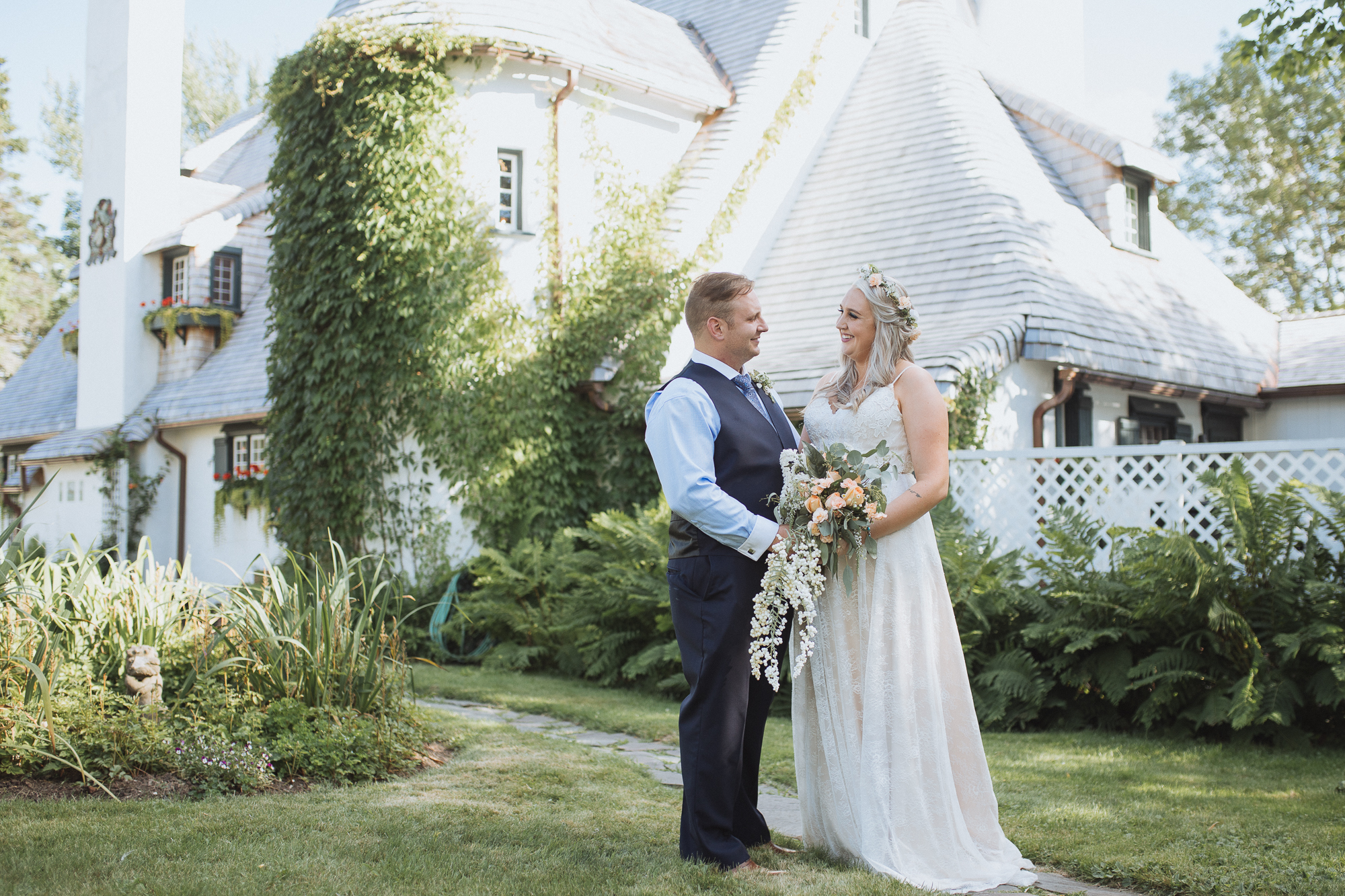 Corey and Kelsey - Fantasy Designer home Wedding photo