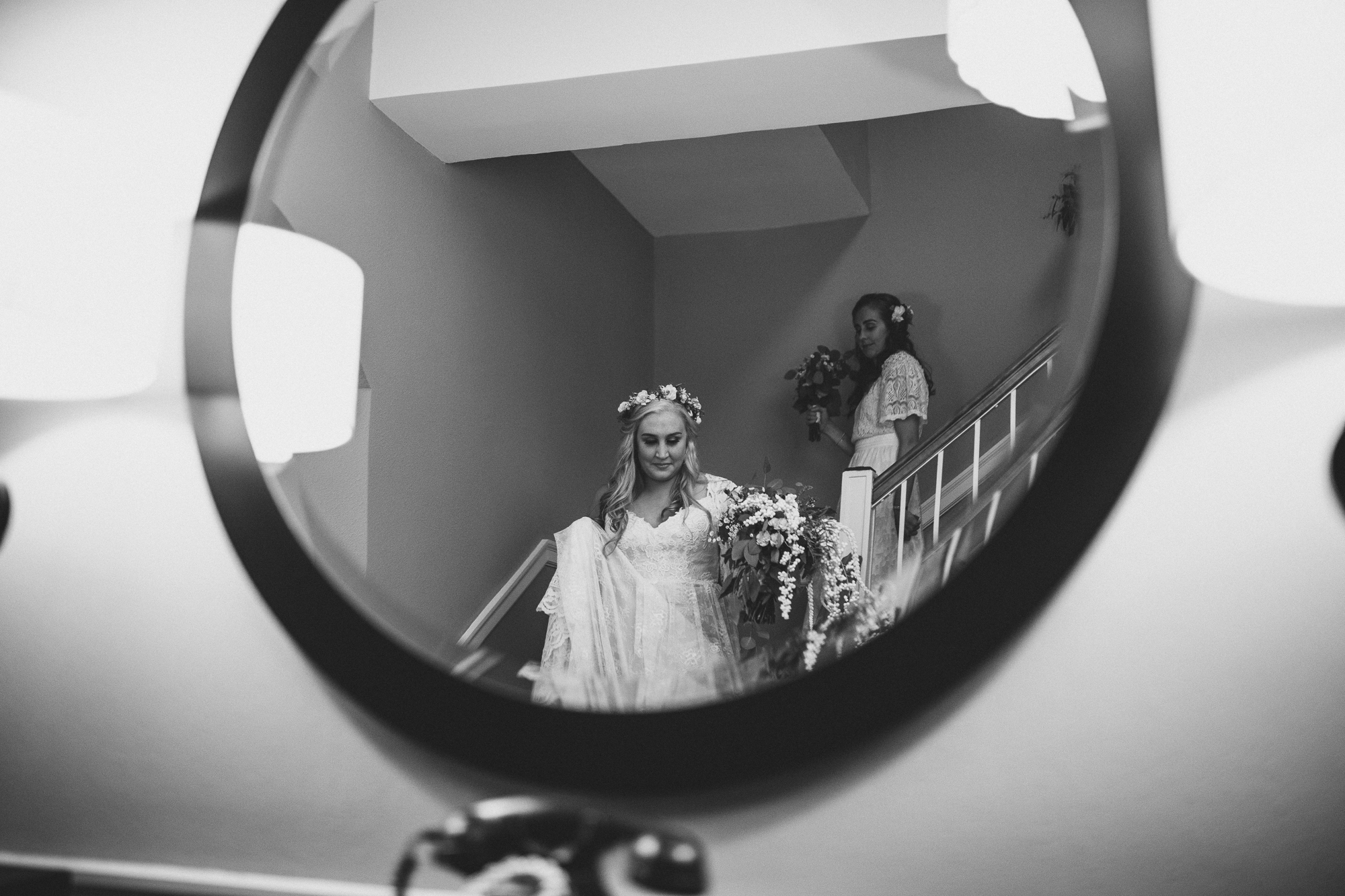Algonquin Wedding - Mirror Shot
