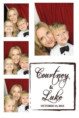 Courtney & Luke's Wedding