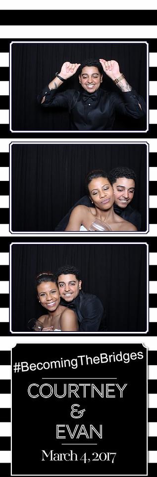 Courtney and Evan Bridges - Wedding