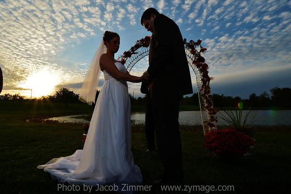 Courtney and Travis Wedding