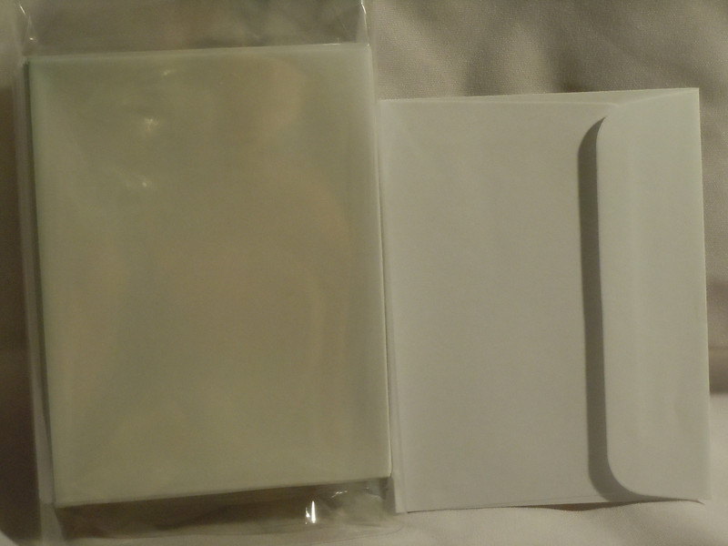 "Left over reply card envelopes from my wedding invitations<br /> <br /> There are 33 envelopes left.  These are 4 3/8""x5 5/8"", white.  They have squared flaps. $4"