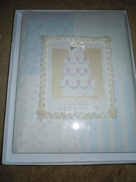 Wedding scrapbook, $2