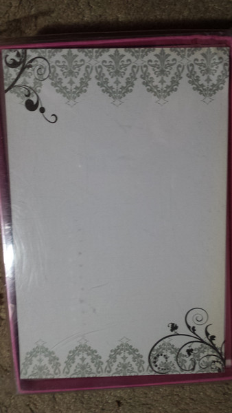 """Quinceanera Brand Invitations for Scrolls<br /> 50 count invitations WITH NO ENVELOPES<br /> 5 1/2""""x 8 1/2""""<br /> 3 packages available.  $5 per package or all 3 for $10"""