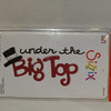 Sizzix Sizzlit Die, Phrase, Under the Big Top, #655626.  One die, Brand new in packaging.  One available, $4