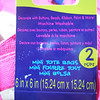 Hot Pink Mini Tote Bags<br /> 2 pcs per package<br /> 13 available, $1 each or all packages for $10<br /> <br /> One 2pc set in yellow, $1