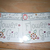 Flower girl iron rhinestones, 2 available, $1 each