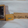 Wooden Rubber Stamp<br /> Jan, USED, 50 cents