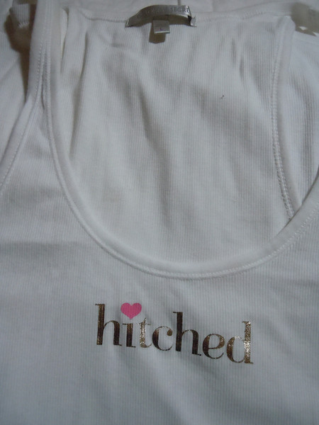Victoria Secret hitched White tank top, Large<br /> Washed but new, $15
