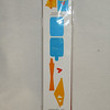 Sizzix Sizzlits Decorative Strip, One Long Die, #654830, Journal, Round Pocket & Ties.  Brand new in packaging, one available, $5