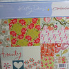 "GCD Studios paper pad.  It is a Kathy Davis scatter joy design pack.  I believe the pack design is called ambrosia.  There are 48 12""x12"" printed cardstock, acid and lignin free.  $5 each, 2 available or get both for $8.  I also have this in 6""x6"".  2 available, $2 each."