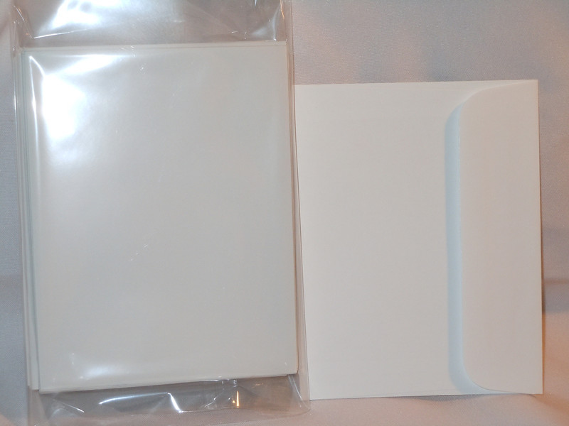 """A picture with flash<br /> <br /> Left over reply card envelopes from my wedding invitations<br /> <br /> There are 33 envelopes left.  These are 4 3/8""""x5 5/8"""", white.  They have squared flaps. $4"""
