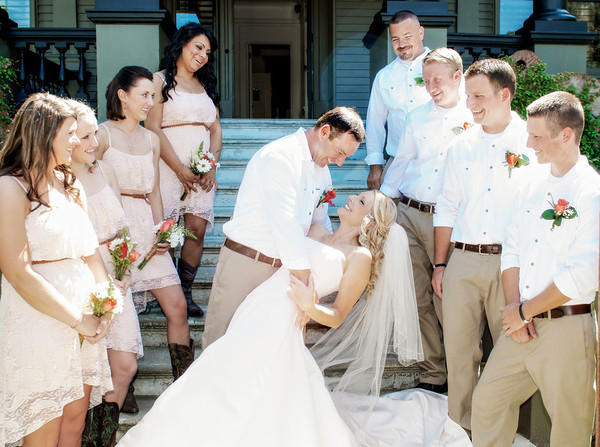 Croft Wedding - Real Weddings Mag