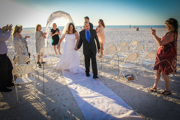 Crystal & Joseph Maione  Wedding, 60D, Clearwater Beach 2 11 2017