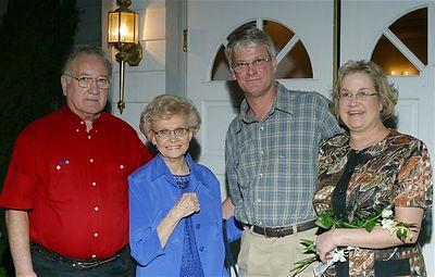 Hank, Vi,  Curtis & Deb