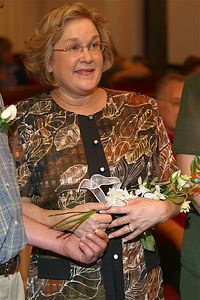 Debbie Johnson, Wedding