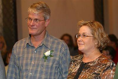 Curtis & Deb Johnson, Groom and Bride