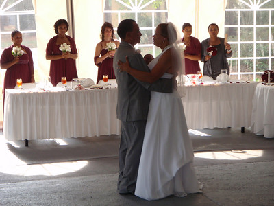 First dance as husband and wife