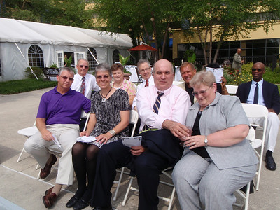 IBM crowd at Curtis' wedding (Russell & Elaine Drake, Bill & Betty Hardiman, Jim & Patsy Haynes, Rob Schantz, Dennis Maurer)