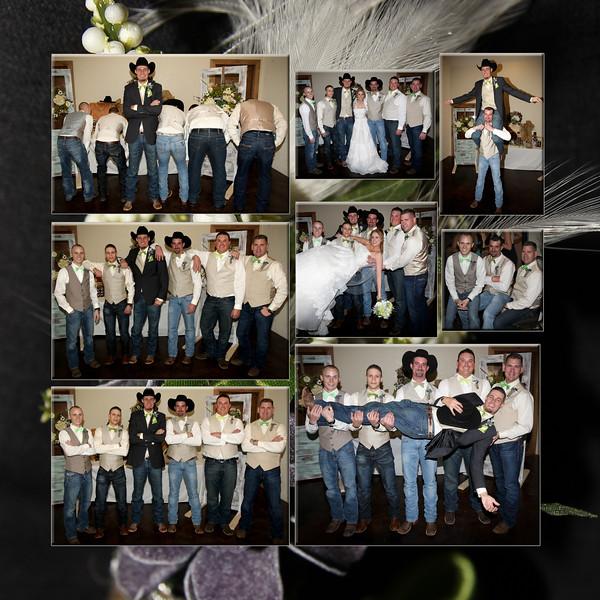 8 Groomsmen