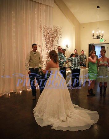 Cvancara Wedding - Garter & Bouquet
