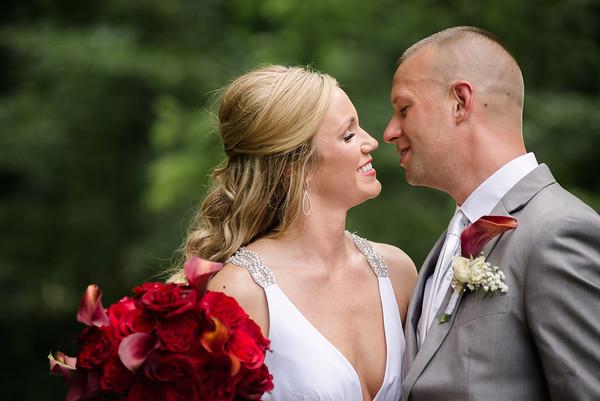cyndi + jim | wedding | hudson mills metro park, pinkney