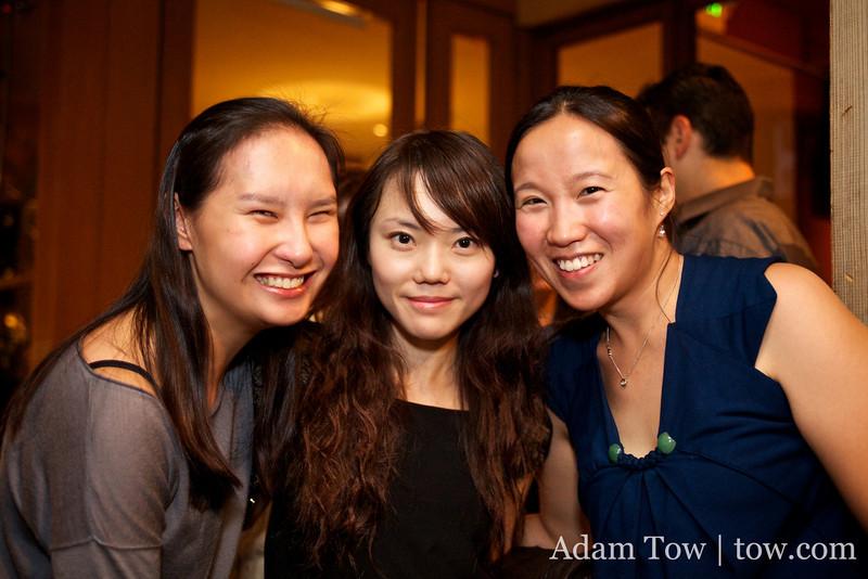 Cynthia's friends from Hong Kong.