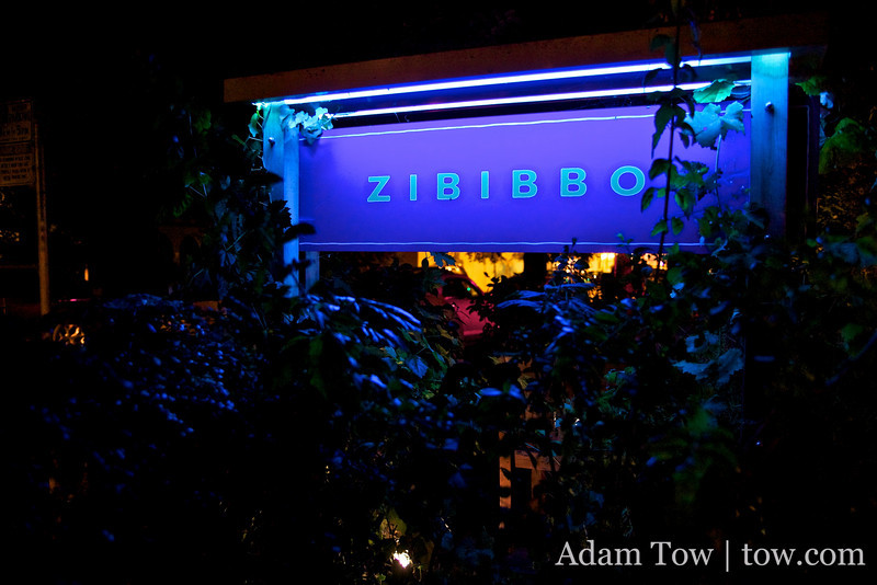 Zibibbo in Palo Alto.