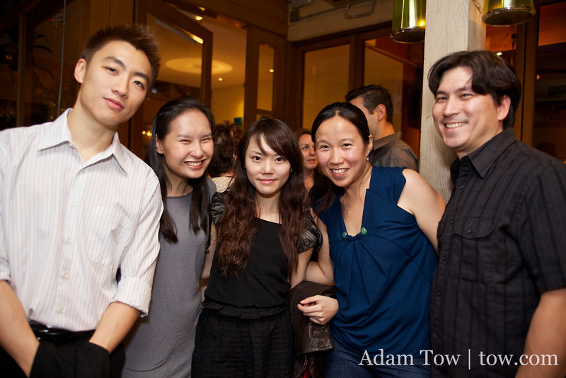Cynthia and Kekoa with friends from Hong Kong.
