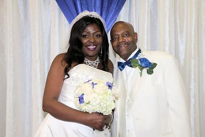 DARRYL AND CAROLYN'S WEDDING