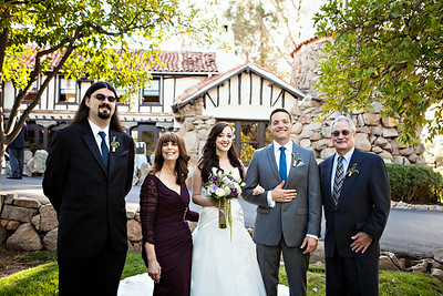 San Diego Wedding @ Mt Woodson Castle