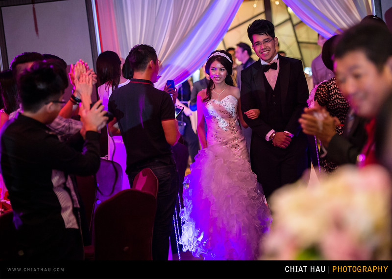 Wedding Reception Session by Chiat Hau Photography(DJ + Trinie Wedding Reception Session)