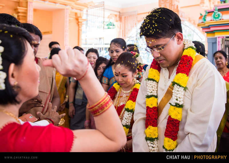 Wedding Photography By Chiat Hau Photography (DJ + Trinie - Indian Wedding Ceremony)