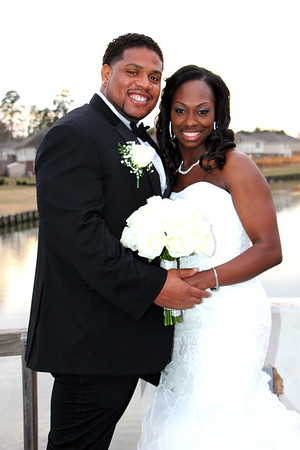 DONNELL AND TRENNA'S WEDDING