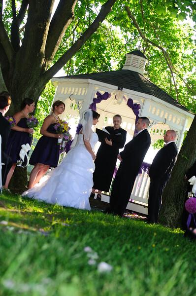 Dacia & Chris wedding ceremony