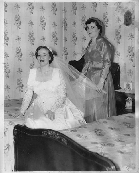 Mom and Aunt Gloria