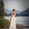 Bride shot on the river